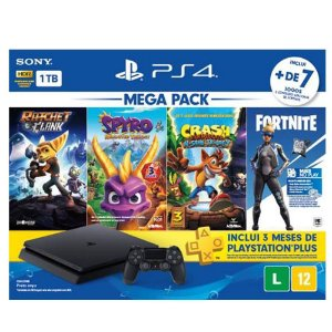Playstation 4 Slim - 1Tb Edição Family