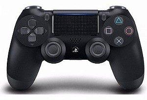 Controle Playstation 4 Preto Semi Novo