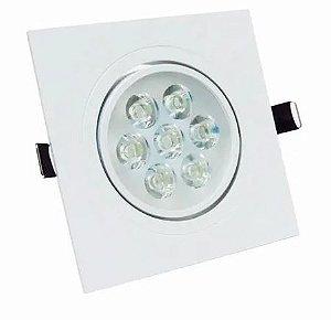 Luminária LED Spot 7W