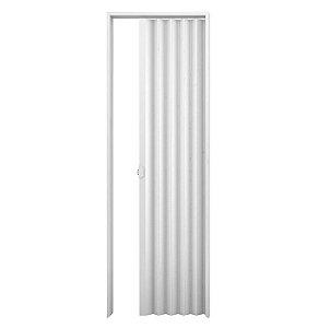 Porta Sanfonada PVC Branca 0,82 x 2,10 m