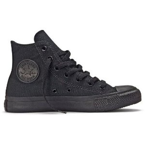 Tênis Converse All Star Ct As Monochrome - Preto-CT04470002
