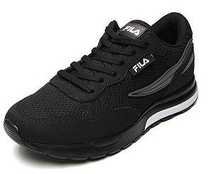 Tênis Fila Footwear Extra Runner Masculino- Preto/Grafite/Branco- 11U373X-1645