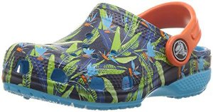 Crocs CLS Tropical Clog K Multicolors Infantil - 204786-920