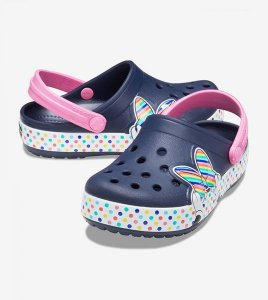 Crocs  FL Disney Minnie Mouse Styl Navy - Infantil -206156-410