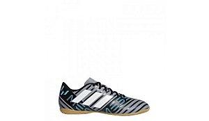 CP9068- Chuteira Memeziz Messi 17.4 IN Adidas Futsal  -Preto/Cinza