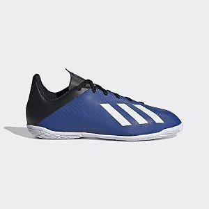 EF1623-Chuteira X 19.4 IN J - Futsal Adidas Azul