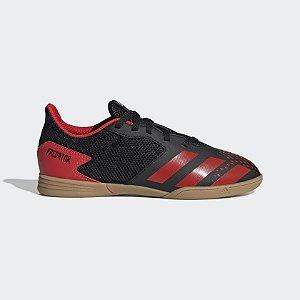 EF1979-Chuteira Predator 20.4 Futsal Adidas - Preto