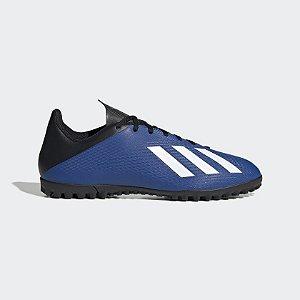 FV4627- Chuteira X 19.4 Society Adidas-Azul