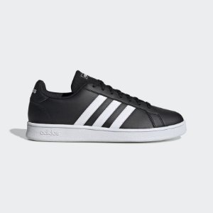 EE7900-Tênis Grand Court Base M Adidas - Preto/Branco