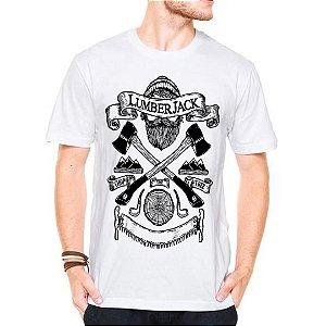 Camiseta Manga Curta Lenhador Jack