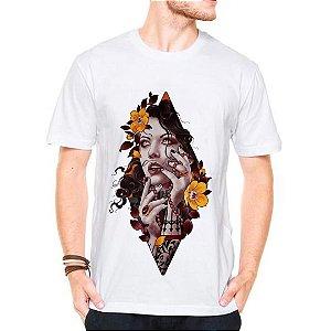 Camiseta Manga Curta Catrina