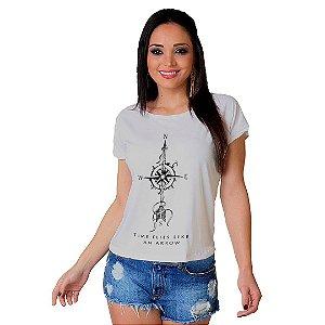 Camiseta T-shirt  Manga Curta Flecha
