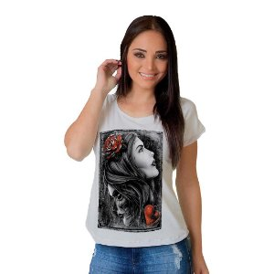 Camiseta T-shirt  Manga Curta Dual Face