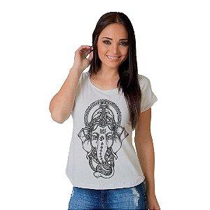 Camiseta T-shirt  Manga Curta Elefante