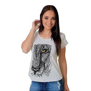 Camiseta T-shirt  Manga Curta Feline Look