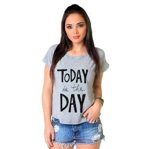 Camiseta T-shirt  Manga Curta Today
