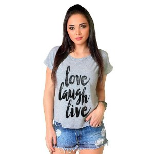 Camiseta T-shirt  Manga Curta Love Live