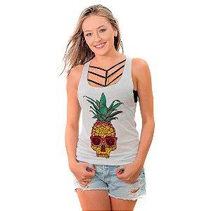 Regata Nadador Pineapple Skull