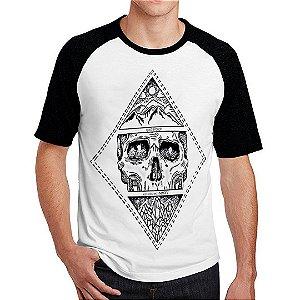 Camiseta Raglan Caveira MMXV
