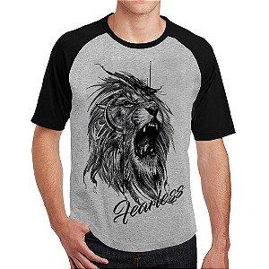 Camiseta Raglan Leão Tattoo