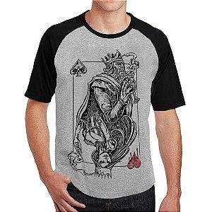 Camiseta Raglan Rei de Espadas