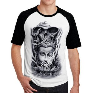 Camiseta Raglan Hindu