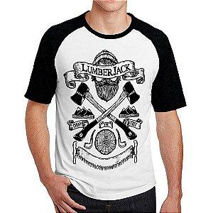 Camiseta Raglan Lenhador