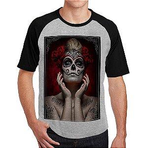 Camiseta Raglan Catrina Color