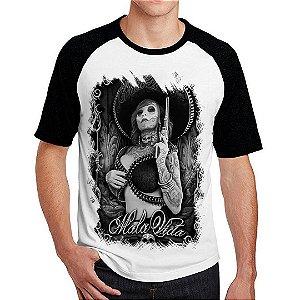 Camiseta Raglan Senhorita Mexicana