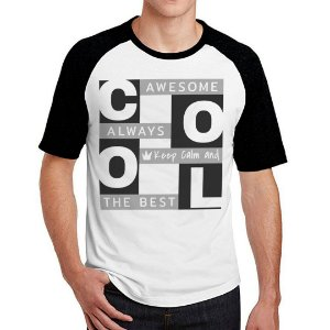 Camiseta Raglan cool