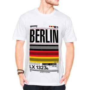 Camiseta Manga Curta Berlin