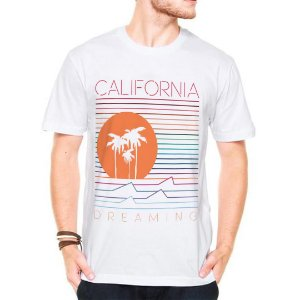 Camiseta Manga Curta california dreaming