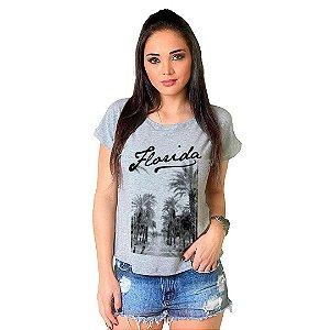 Camiseta T-shirt  Manga Curta Florida