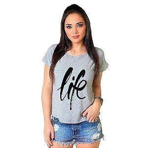 Camiseta T-shirt  Manga Curta Life