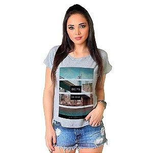 Camiseta T-shirt  Manga Curta Bklyn Bridge