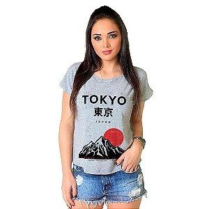 Camiseta T-shirt  Manga Curta Tokyo