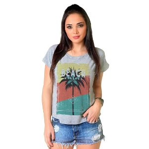 Camiseta T-shirt  Manga Curta Beach Weekend