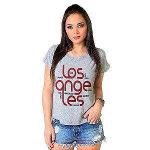 Camiseta T-shirt  Manga Curta Los Angeles
