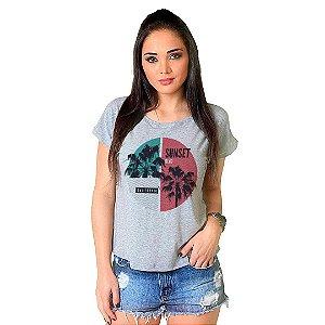 Camiseta T-shirt  Manga Curta Sunset