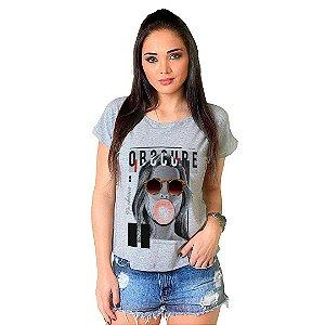 Camiseta T-shirt  Manga Curta Obscure