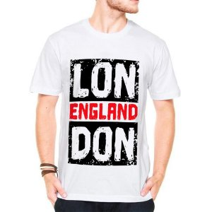 Camiseta Manga Curta London