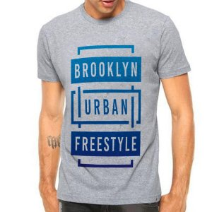 Camiseta Manga Curta Brooklyn Urban Freestyle