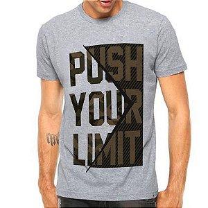 Camiseta Manga Curta Push Your Limit