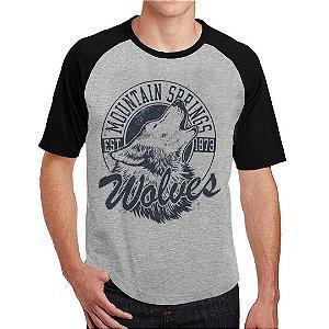 Camiseta Raglan wolves