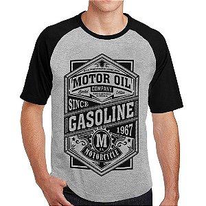 Camiseta Raglan motorcycle 1967