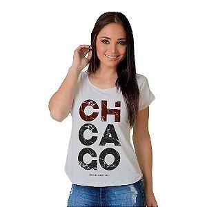 Camiseta T-shirt  Manga Curta  Chicago