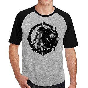 Camiseta Raglan Astronauta