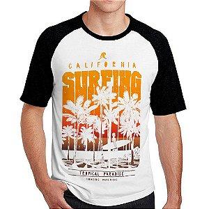 Camiseta Raglan Tropical Paradise