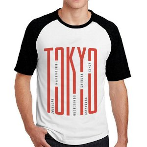 Camiseta Raglan Tokyo