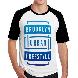 Camiseta Raglan Brooklyn Urban Freestyle